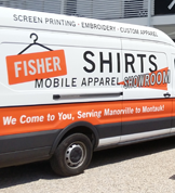 Fisher Signs and Shirts Southampton storefront