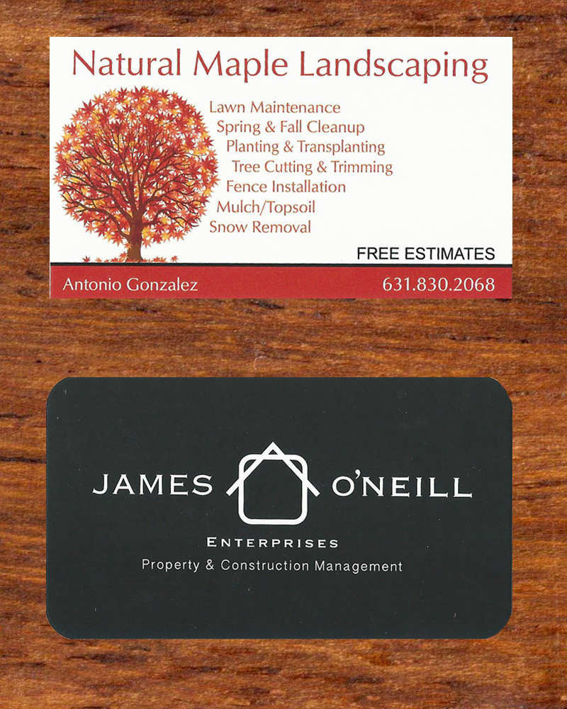 hamptons print services business cards
