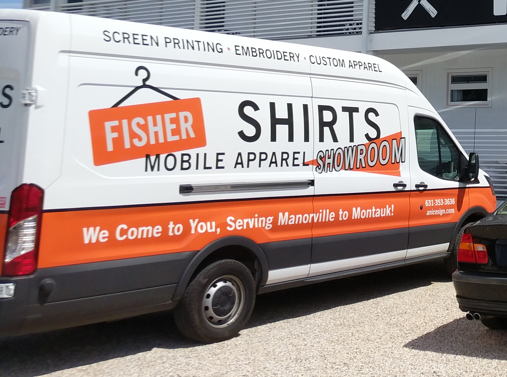 487a2f9c79 Fisher Signs   Shirts